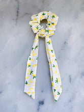 Load image into Gallery viewer, Lemons Scrunchie Ties