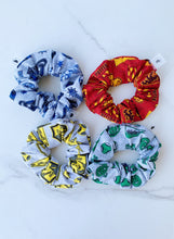 Load image into Gallery viewer, SALE Harry Potter House Quidditch Scrunchie