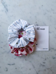 VALENTINE'S WEEKLY DUO Bee Mine Scrunchie Duo