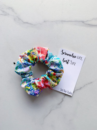 Paint Splatter Scrunchie