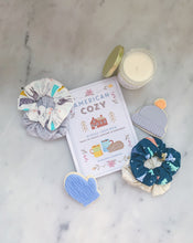 Load image into Gallery viewer, SALE WEEKLY DUO Winter Hygge Scrunchie Duo