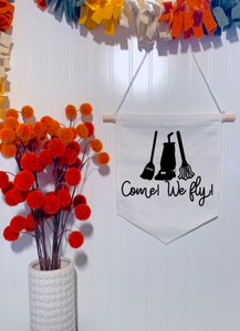 We Fly Hocus Pocus Banner