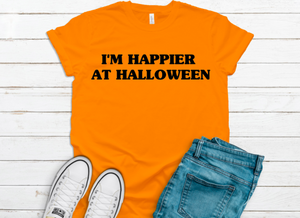 I'm Happier At Halloween T-Shirt