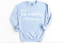 Load image into Gallery viewer, XOXO Lady Whistledown Bridgerton Sweatshirt