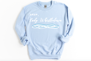XOXO Lady Whistledown Bridgerton Sweatshirt