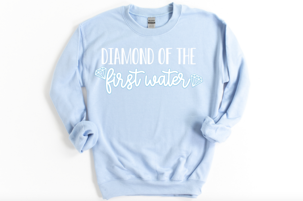 NEW Diamond of the First Water Bridgerton Sweatshirt
