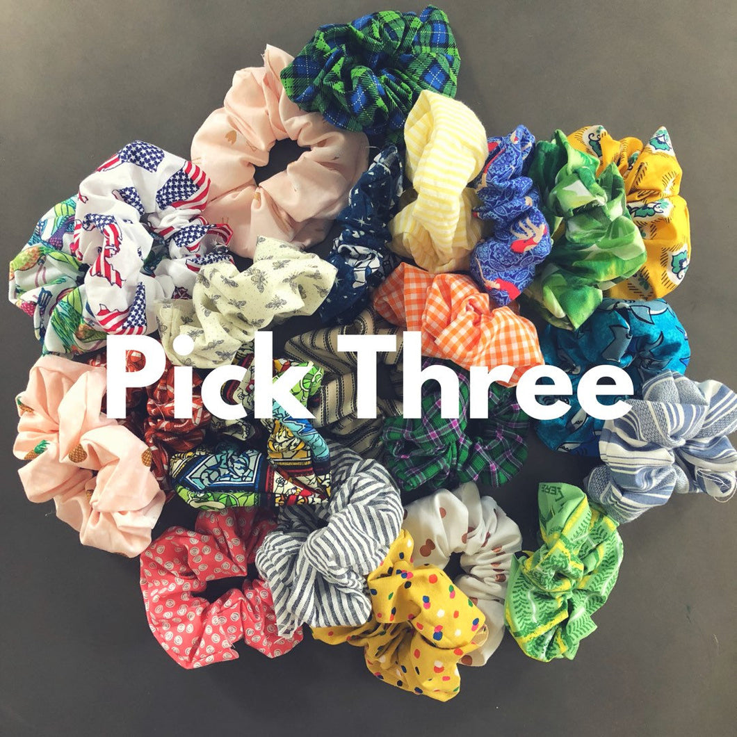 Build Your Own 3-Pack Scrunchie Pack