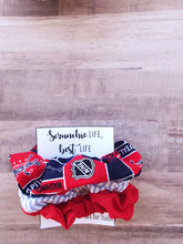 Load image into Gallery viewer, Washington Capitals Scrunchie Pack