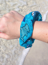 Load image into Gallery viewer, Shark Scrunchie