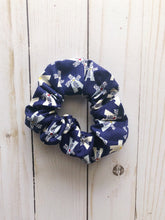 Load image into Gallery viewer, Windmill Print Scrunchie