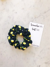 Load image into Gallery viewer, Lemon Check Scrunchie Pack