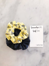 Load image into Gallery viewer, WEEKLY DUO Bumblebee Scrunchie Duo