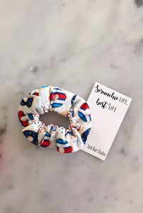 Weekly DUO USA Donut Picnic Scrunchie Duo