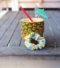 Load image into Gallery viewer, Pineapple and Seersucker Scrunchie Pack