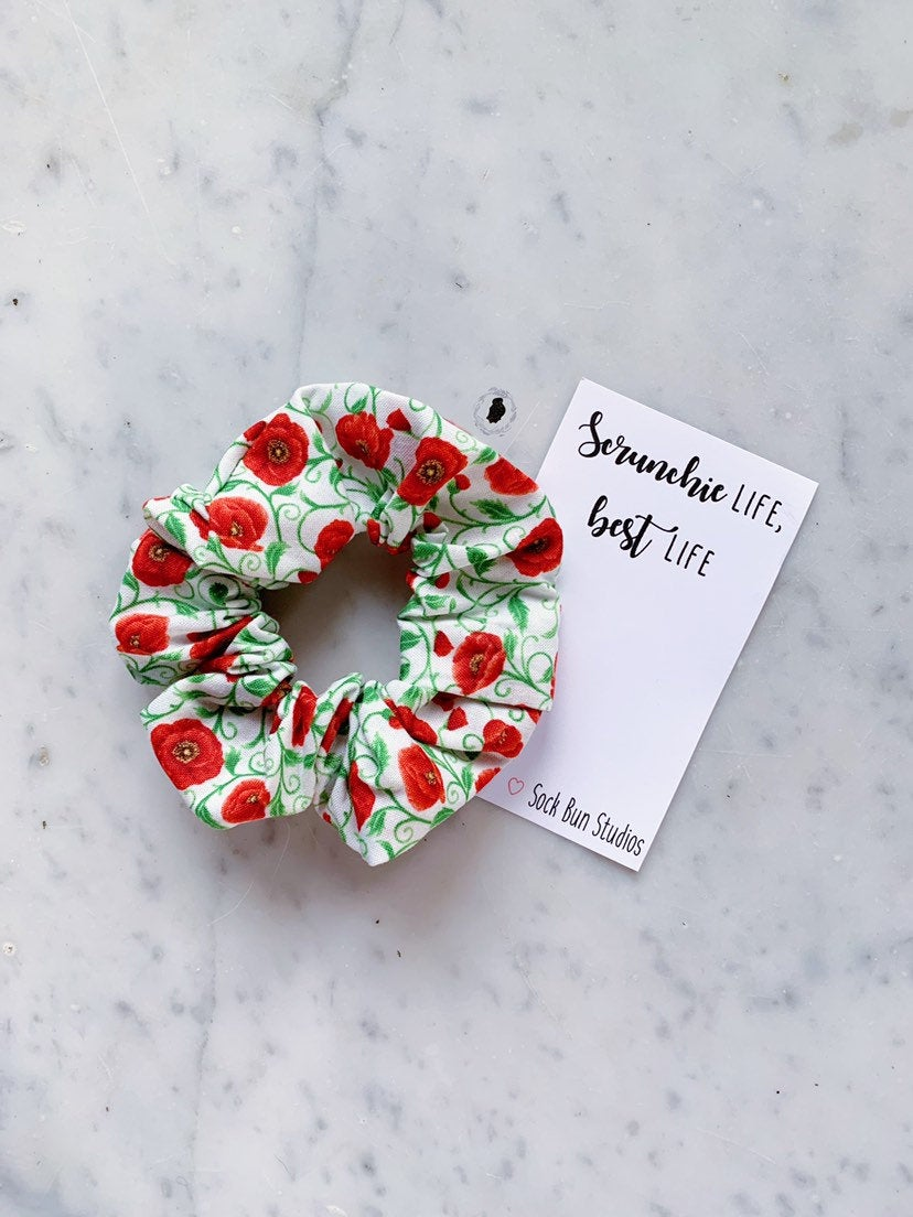 Wizard Of Oz Poppy Scrunchie