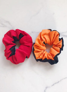 School Pride Color Scrunchie