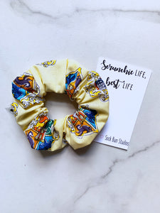 NEW Watercolor Hogwarts Crests Scrunchie