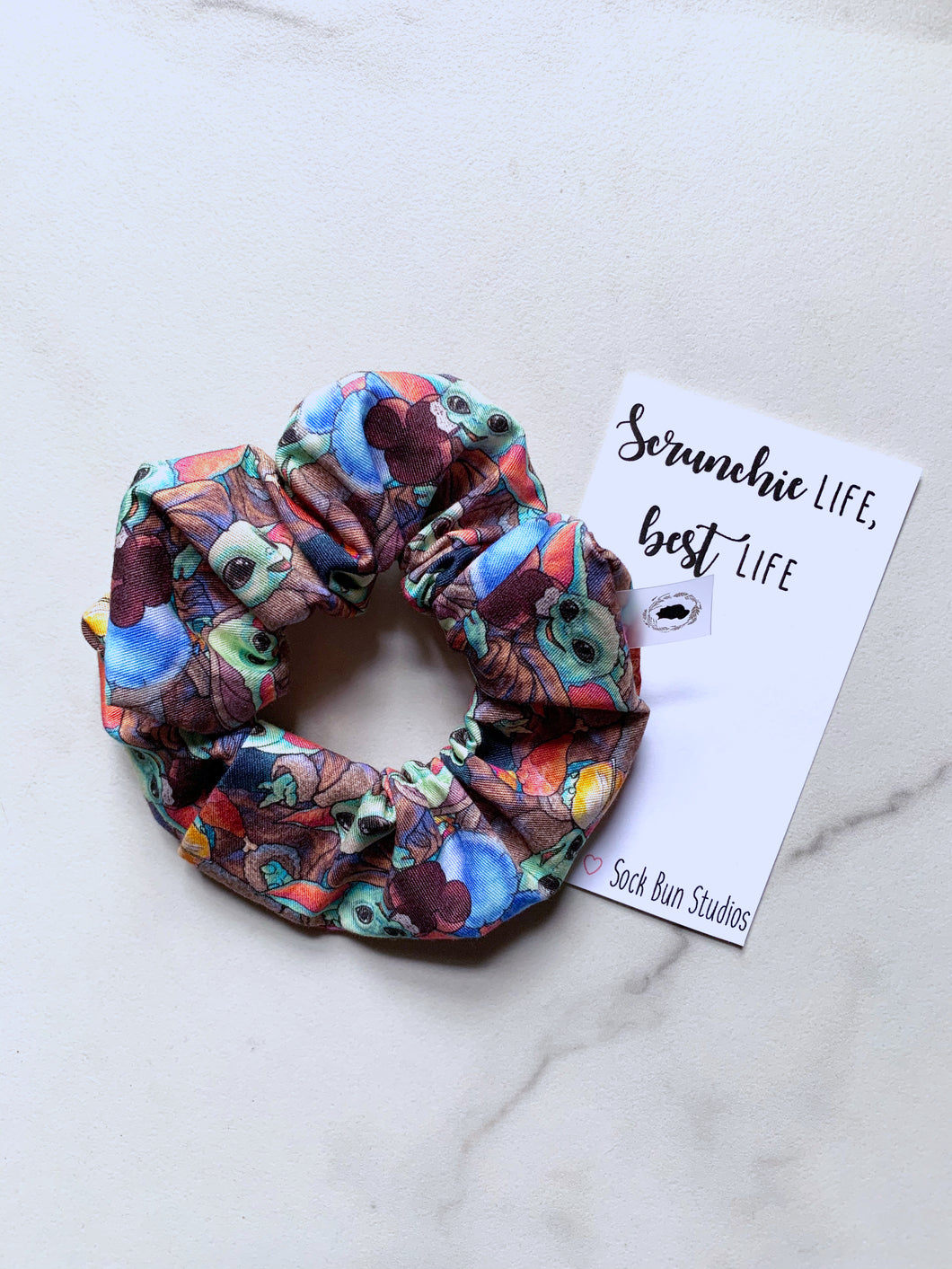 NEW The Child Snacks Scrunchie