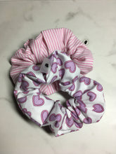 Load image into Gallery viewer, WEEKLY DUO Pastel Valentine's Scrunchie Duo