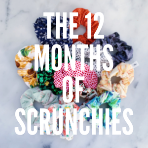 12 Months of Scrunchies Scrunchie Super Pack