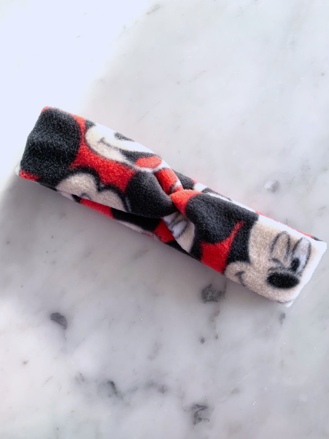 NEW Mickey Fleece Headband Turban