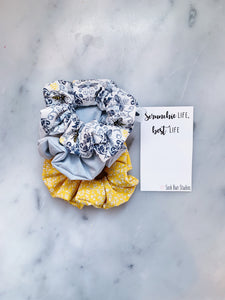SALE Victorian Bumble Bee Scrunchie Pack