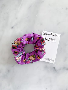 Trick or Treat Charlie Brown Peanuts Scrunchie