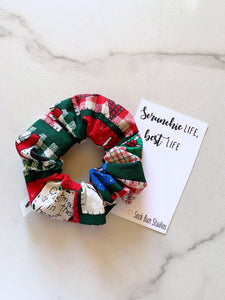 NEW Throwback Heart of Christmas Scrunchie