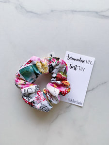 THROWBACK Paris In Love Scrunchie