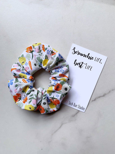 NEW Rifle Paper Easter Floral Scrunchie