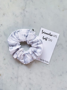 NEW Marble Scrunchie