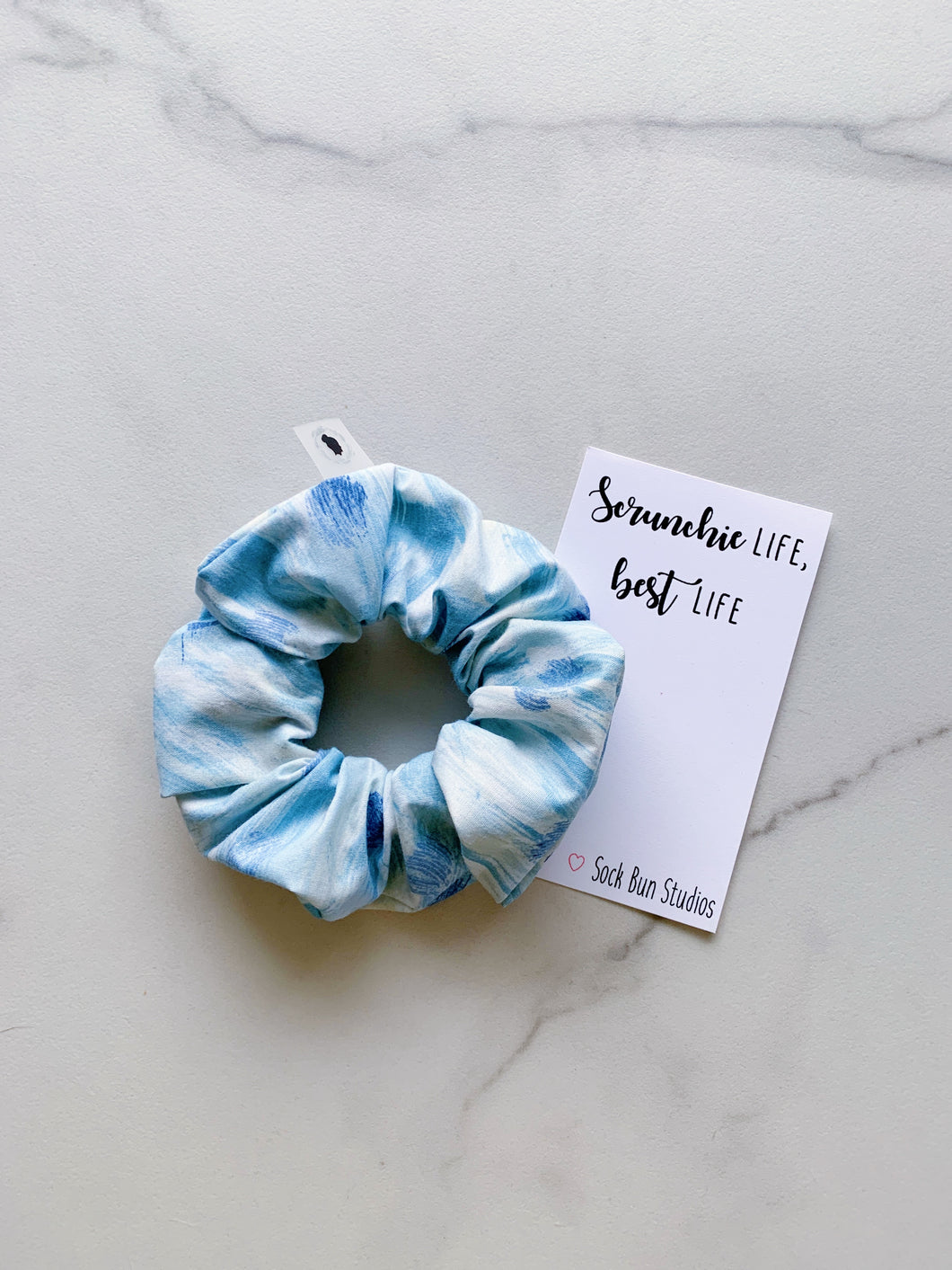 THROWBACK Brushstrokes Scrunchie