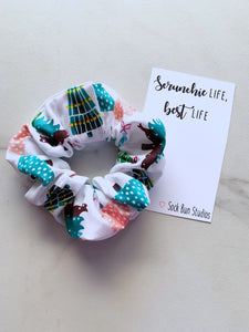 NEW Pastel Christmas Scrunchie