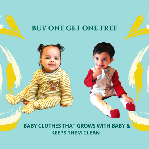 buy one get one baby clothes free