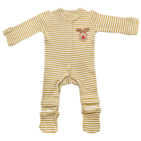 2 Piece Set Stain-Proof & Expandable Baby Jumpsuits Romper Newborn To 1 Year
