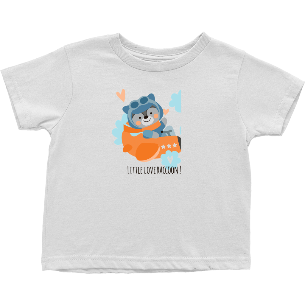 Little Love Racoon Toddler T-Shirt