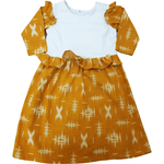 Russet Stain-Proof Preschooler Printed Floral Dress - Snug Bub USA