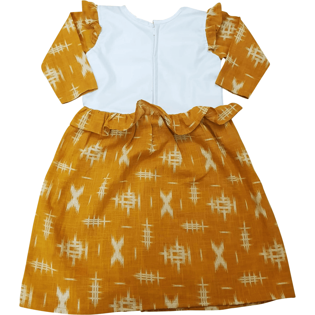 Stain-Proof/ Mess Proof Toddler Printed Floral Dress  ( 3 - 5  Years)