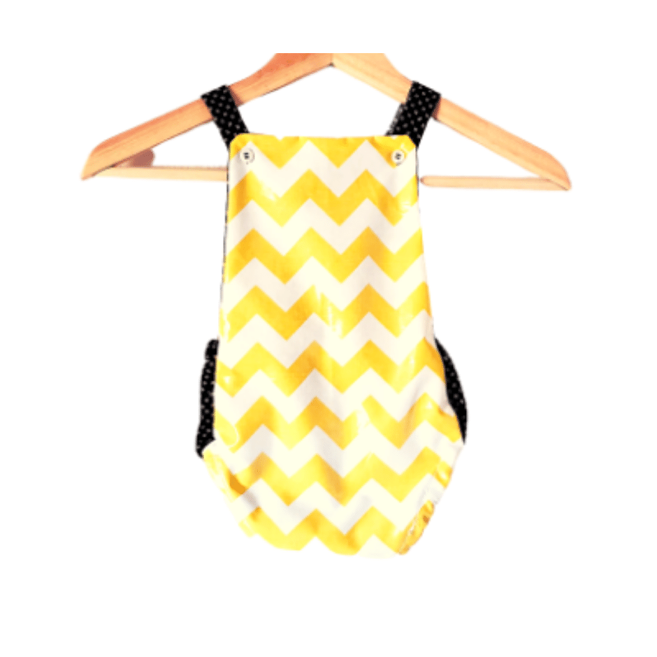 Honey Bee Summer Romper - Snug Bub USA