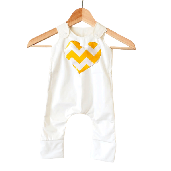 Sunshine Valentine Stain-Proof & Expandable Unisex Baby Clothes For Girls & Boys - Snug Bub USA