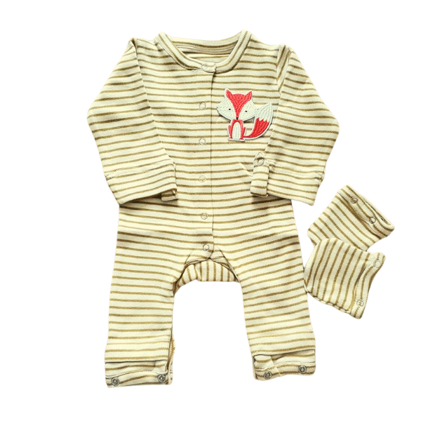 Expandable Unisex Baby Clothing For Boys & Girls Fox