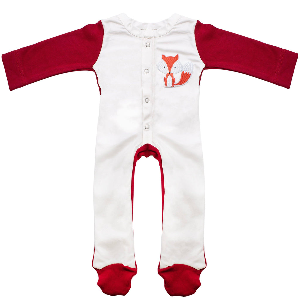 Fox Red Stain - Proof Jumpsuit Baby Clothes