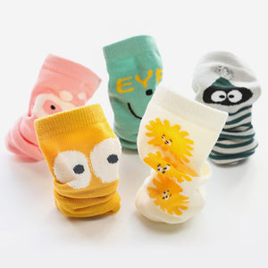 5 Pack Baby Sock Set