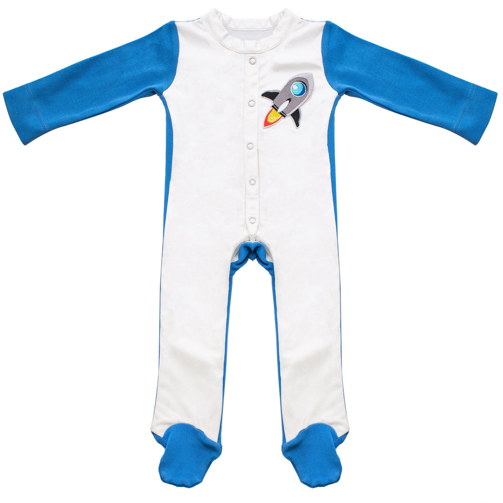 Rocket Stain-Proof Infant Jumpsuit Baby Clothes