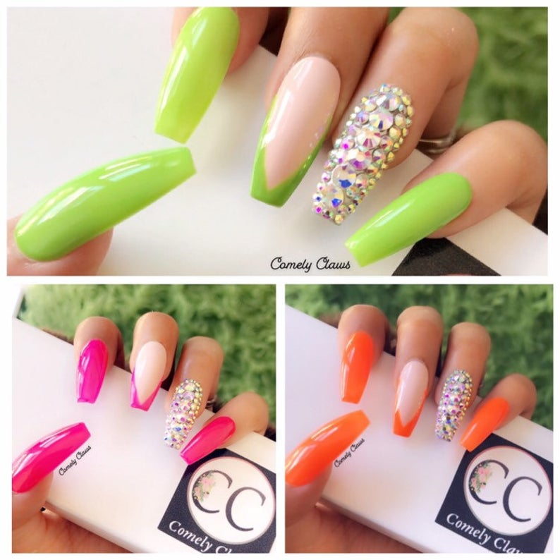 38+ Green Nail Designs And Ideas
