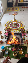 Load image into Gallery viewer, Durga Lakshmi Saraswati Homam - Video Puja