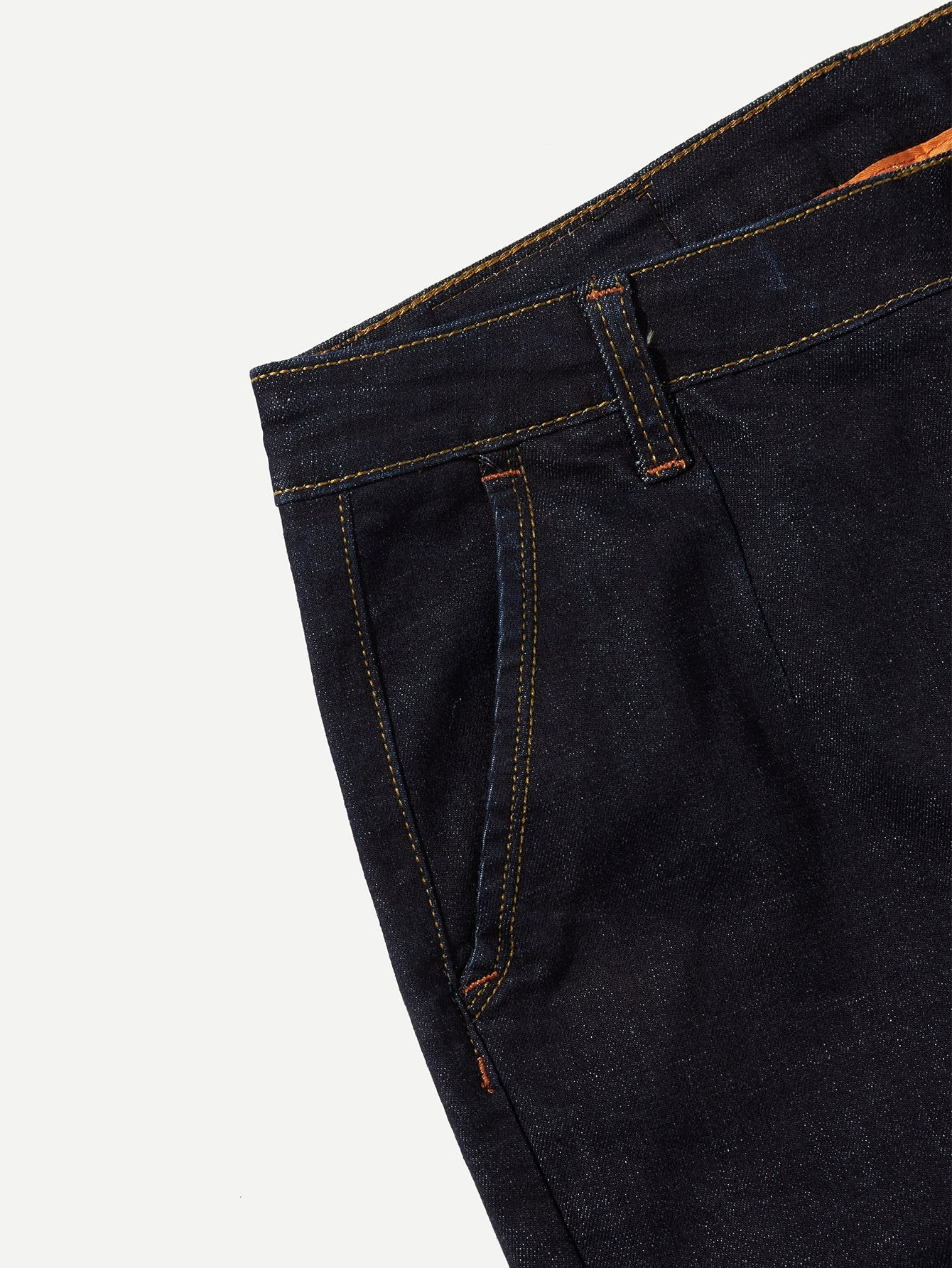 Men Plain Slim Jeans