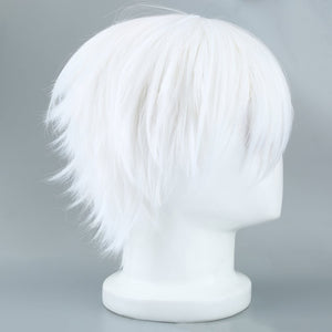 Halloween Tokyo Ghoul Cosplay Hairs - Synthetic Silk Short Straight