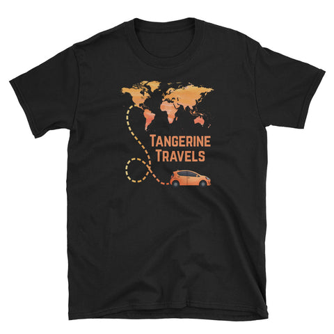 100% Cotton Map Design T-shirt (UNISEX, 3 Color Options)