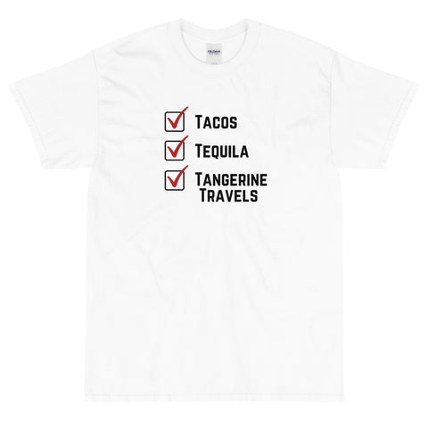 5XL Checklist T-shirt (UNISEX, 8 Color Options)
